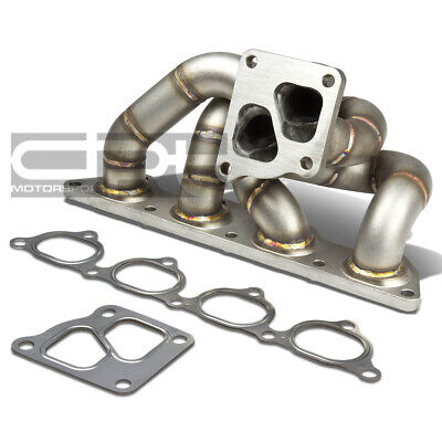 AU386.16 • Buy Fit 05-06 Mit Evo 7/8/9 4G93T Td05 Cast Stainless Steel Turbo Manifold Exhaust
