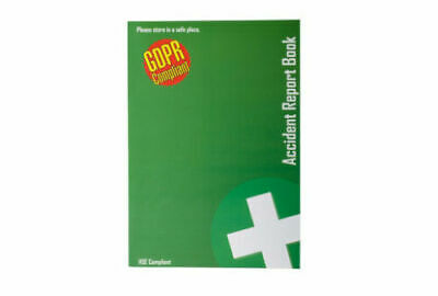 £2.70 • Buy 1 X GDPR Compliant A5 First Aid Accident Report Book