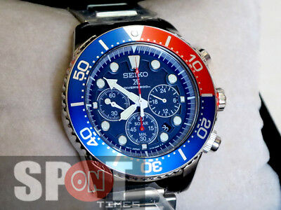 $ CDN431.25 • Buy Seiko Solar Quartz Chronograph Men's Watch SSC019P1 SSC019