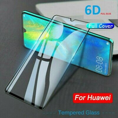 For Huawei P40 P30 Lite Pro P SMART Full Cover Tempered Glass Screen Protector • 3.79£