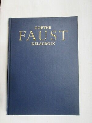 $15 • Buy Goethe's Faust 1932 Heritage Club Illustrated By Eugene Delacroix