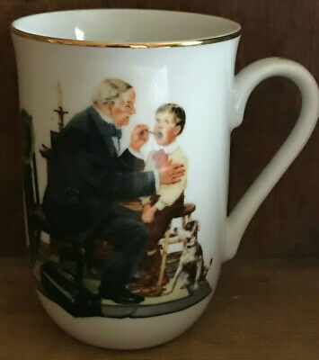 $ CDN27.61 • Buy Norman Rockwell Museum Collection Mug The Country Doctor 1986 Vintage Coffee Cup