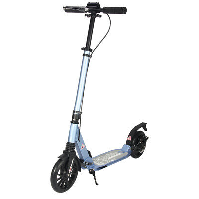 AU110.99 • Buy ❤️Big Wheels Folding Scooter Hand Disc Brake Dual Supension Adult / Child Gift