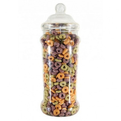 £9.99 • Buy 2585ml Tall Retro Plastic Sweet Jars Favour/Wedding Party Candy Cart-YOU CHOOSE