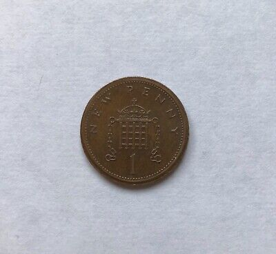 1p NEW PENNY 1976 ERROR COIN MISSING RIM EXTREMELY RARE • 3,000£