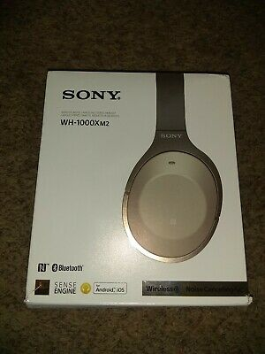 $ CDN268.10 • Buy Sony WH1000XM2 Over-Ear Wireless Bluetooth Headphones - Gold / NEVER USED