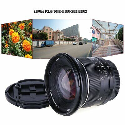 AU183.85 • Buy Kaxinda 12mm F/2.8 Wide Angle Lens For Sony E Mount APS-C NEX-7 A6500 A6300