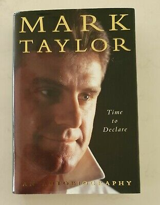 AU52 • Buy Mark Taylor Cricket Signed Time To Declare  Hardback Buy Authentic Book