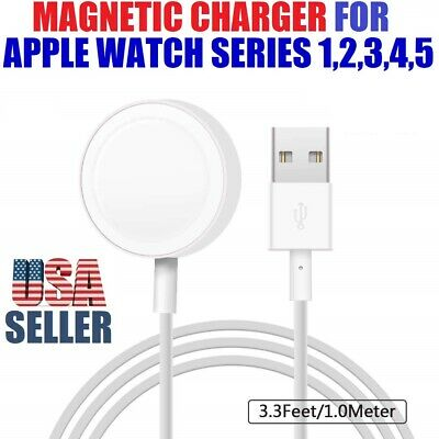 $ CDN10.01 • Buy Magnetic Charger USB Cable Charging Dock For Apple Watch IWatch Series 5/4/3/2/1