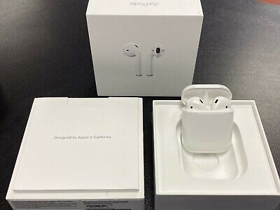 $ CDN176.27 • Buy Apple AirPods 2nd Generation Wireless Earbuds W/ Wired Charging Case - MV7N2AM/A