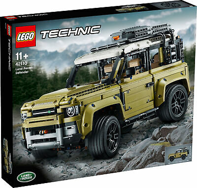 42110 LEGO Technic Land Rover Defender Collectable Set 2573 Pieces Age 11+ • 164.99£