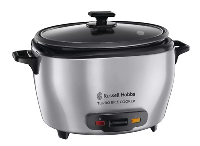 AU67 • Buy Russell Hobbs RHRC20 Turbo Rice Cooker With Tempered Glass Lid