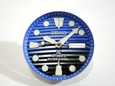 $ CDN50.79 • Buy New Replacement Save The Ocean Dial,hands,minute Track Will Fit Seiko Skx007-009