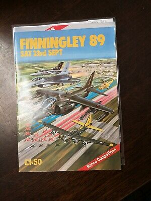 £10 • Buy Finningley 89 - Air Show Programme 1988     52 Pages