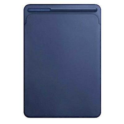 "Genuine Apple Leather Sleeve Case For IPad Pro 10.5"" - Midnight Blue MPU22ZM/A • 27.99£"
