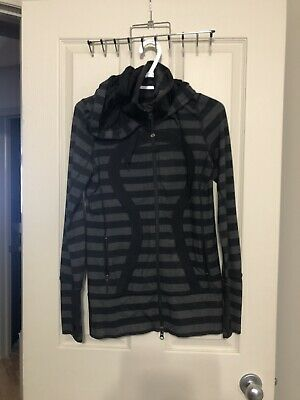 $ CDN60 • Buy Lululemon Stride Micro Macro Black Jacket Sz 8