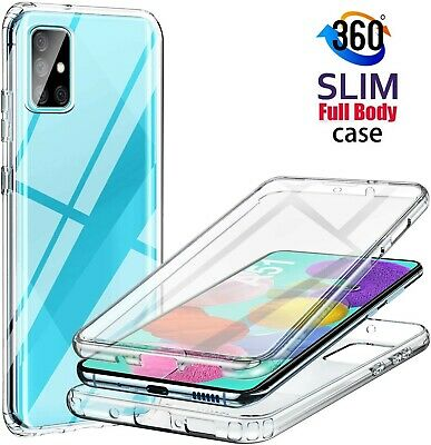 Case For Samsung A21s A41 A51 A71 Full Body Slim TPU Gel Protective Phone Cover • 3.99£