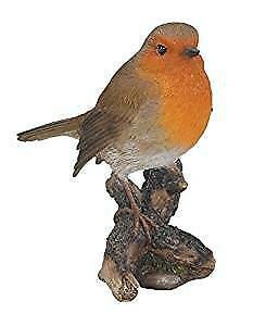 £12.94 • Buy Vivid Arts Robin -Indoor Outdoor Garden Ornament Gift H 13cm