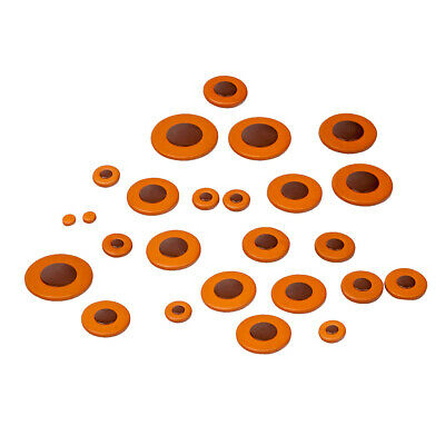 25 Pieces Of Set Leather Tenor Saxophone Pads For Yamaha Saxophone Parts • 12.89£