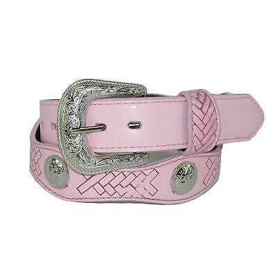 $33.44 • Buy New Rogers-Whitley Kids' Western Belt With Conchos