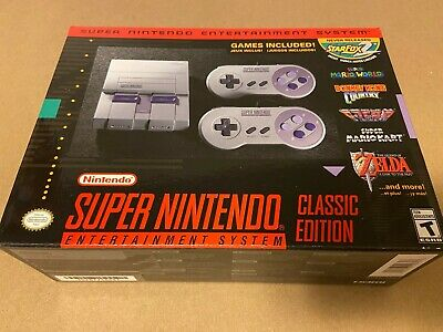 $ CDN211.47 • Buy Super Nintendo Entertainment System SNES Classic Edition BRAND NEW! RARE