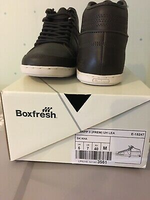 £32 • Buy Brand New Boxfresh Swapp 3 Lace Up Ankle Boots. Brown. Size UK6/US7/EU40