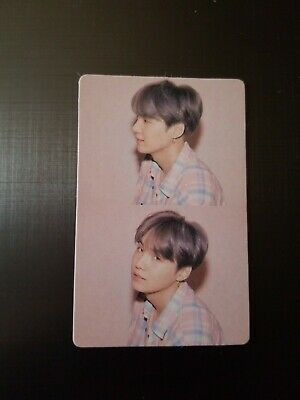 $3 • Buy SUGA YOONGI - UNOFFICIAL PHOTOCARD VERSION 01 - BTS Map Of The Soul Persona