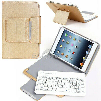 AU32.99 • Buy AU Gold For 7  8  10  10.1  Tablets Universal Leather Case Keyboard Stand Cover