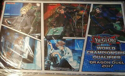 AU60 • Buy SPYRAL WCQ 2017 Mat - Official Yu-Gi-Oh! Playmat - Sealed New