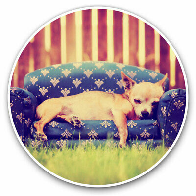 2 X Vinyl Stickers 10cm - Cute Chihuahua Puppy Dog Cool Gift #8130 • 2.49£