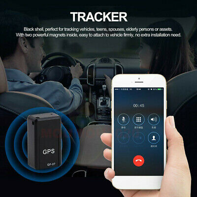 AU17.60 • Buy Mini Magnetic Car Vehicle GPS Tracker Real Time Tracking Locator Device GF-07