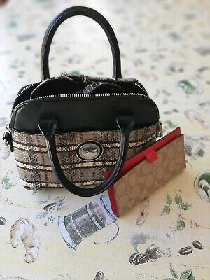 AU45 • Buy Oroton Snake Patten Bag And BN Coach Wallet