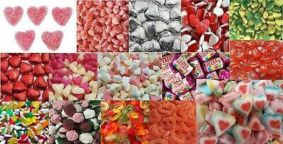 Sweets Chocolate Love Hearts Lips Kisses Rings Engagement Wedding HALAL • 9.23£