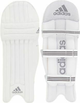 2021 Adidas XT 3.0 White Batting Pads Size Adult Right & Left Hand • 59.99£