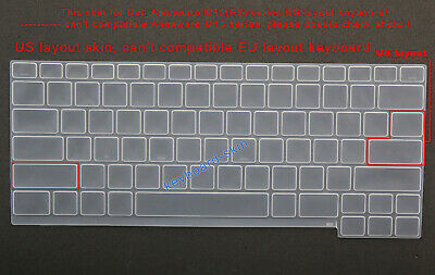 $ CDN6.53 • Buy US Keyboard Silicone Skin Cover Protector For Dell Alienware M15(R2)laptop