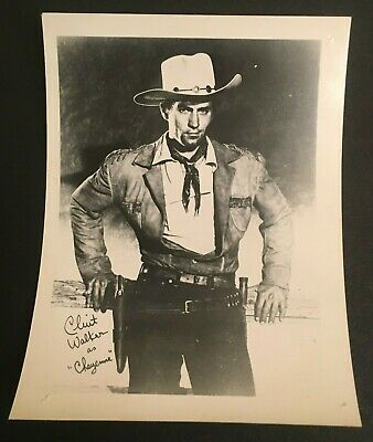 $26 • Buy  Clint Walker Photo Of Actor As  Cheyenne   Approx. 4  X 5