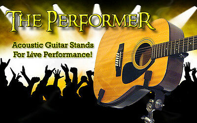 $ CDN381.49 • Buy Stand-Up Acoustic Guitar Holder. Adjustable Live Performance Instrument Stand.