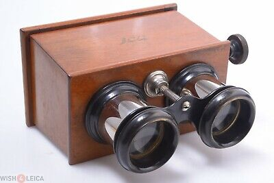 £166.38 • Buy ✅ Ica C.1920 Focusing 45x107mm Stereoscope, Stereoskop Stereo Viewer