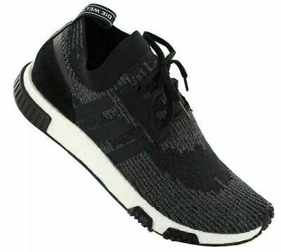 $ CDN78.12 • Buy Adidas Men's Nmd Racer Primeknit Boost Shoes Black Cloud White Nib Aq0949