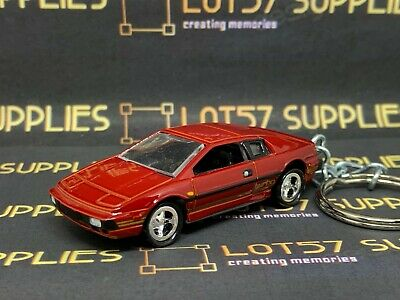 $ CDN9.18 • Buy Lotus Esprit S1 Turbo James Bond Release 1:64 Keyring Keychain Classic Diecast