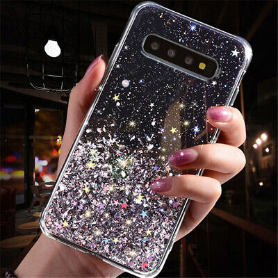 $ CDN4.92 • Buy For Samsung Galaxy S10 S9 S8 Plus Glitter Case Soft Silicone Crystal Gel Cover