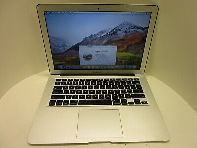 $345 • Buy Apple MacBook Air 7,2 Core I7 2.2GHz 256GB SSD 13 Inch Mid 2017 OS Loaded