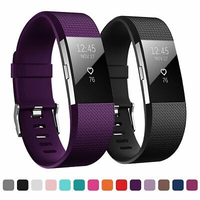 AU5.63 • Buy For FITBIT CHARGE 2 Strap Replacement Wrist Band Wristband Metal Buckle