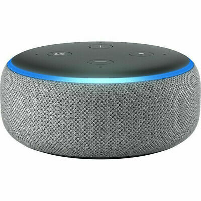 AU56.50 • Buy Amazon Echo Dot (3rd Generation) Smart Assistant Speaker - Heather Gray