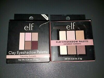 $9.95 • Buy 2 Elf Clay Eyeshadow Palette #81922 Saturday Sunsets * New * Free Shipping