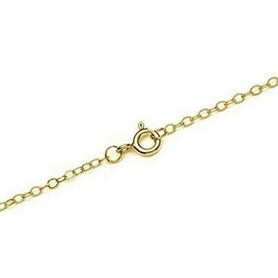 9ct Gold Trace Chain 16  - 24  U.K. Made **** NEW LINE **** • 21.50£