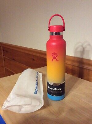$79.99 • Buy Limited Edition Hydro Flask 24oz. Insulated Water Bottle Keiki Rainbow