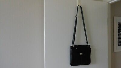 AU9.50 • Buy Unwanted Gift Black Cabrelli Shoulder Bag - Lots Of Compartments