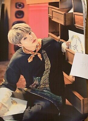 $20 • Buy NEW! Official BTS Suga 5th Muster Fan Meeting Magic Shop Limited Poster