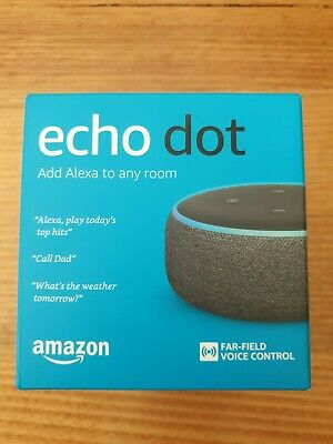 AU45 • Buy Amazon Echo Dot (3rd Generation) Smart Assistant Speaker - Heather Gray